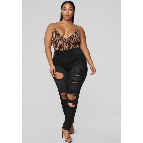 427b420b111 Fashion Nova Curve Jeans